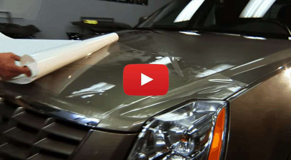 paint protection film demonstration video