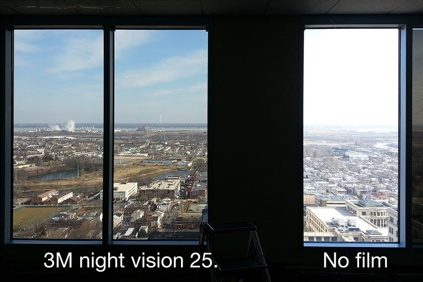 3M night vision solar window film helps you save on energy
