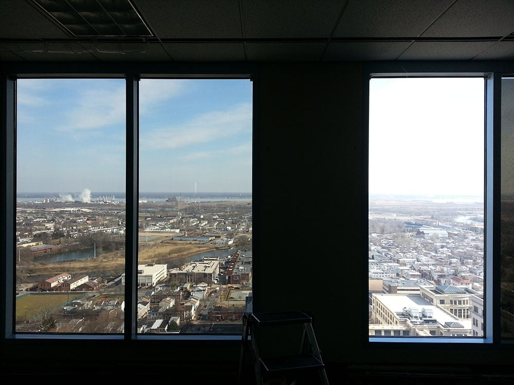 Before & After with Sun Control Window Film